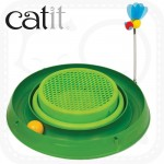 Catit Circuit Ball Toy with Grass Planter 3 – in-1
