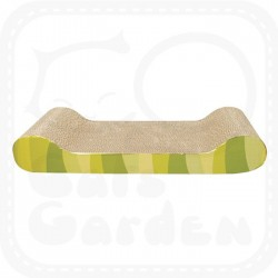 Catit Style Patterned Cat Scratcher with Catnip - Jungle Stripes