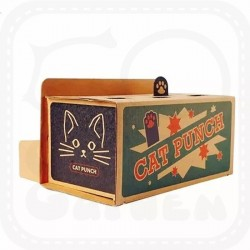 Cat Punch Whack-A-Mole Cardboard Toy