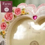 "FarmHouse Candy Cat 5"" Photo Frame"