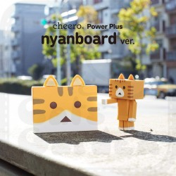 Cheero Power Plus 6000mAh-Nyanboard version, Chatora