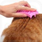 Soft Rubber Cat Brush