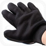 Silicone Pet Grooming Glove in Pair