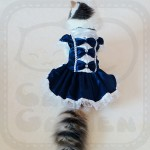 Lace Maid Dress Pet Costume