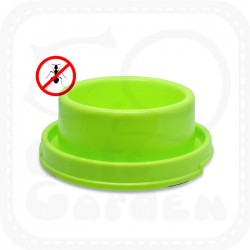 Round Plastic Anti-ant Pet Bowl